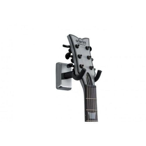 Gator Frameworks GFW Guitar Wall Hanger Satin Chrome