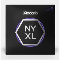 D'Addario Nickel Wound NYXL Regular Light Electric Guitar Strings 11-49
