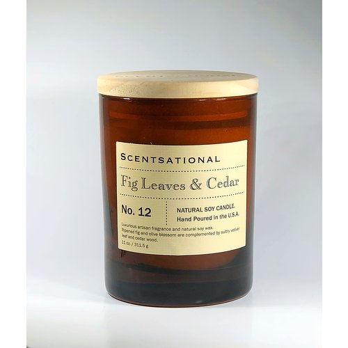Scentsational Apothecary - Fig Leaves & Cedar No. 12