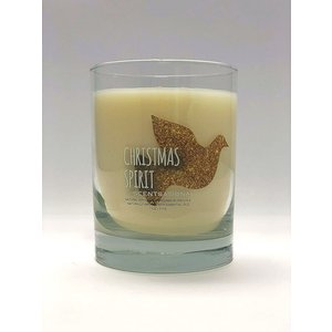 Scentsational Christmas Spirit Candle w/ Snowflake Bag