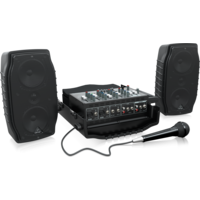 Europort PPA200 5-channel Portable PA System