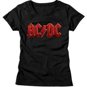 American Classics AC/DC - Distressed Red Logo (Women's)