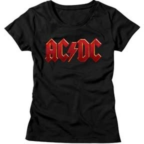 American Classics AC/DC - Distressed Red Junior T