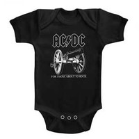 AC/DC About to Rock Onesie