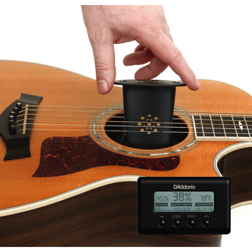 D'Addario D'Addario Acoustic Guitar Humidifier with Digital Humidity & Temperature sensor