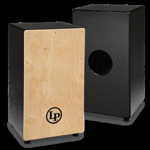 LP LP Black Box Cajon, Natural Face Plate