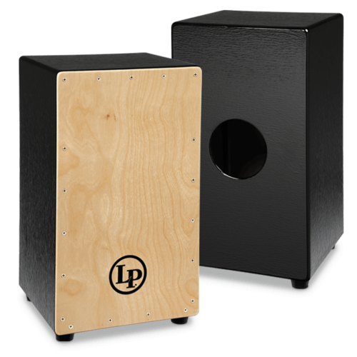 LP LP Black Box Cajon, Natural Face Plate
