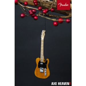 "Axe Haven 6"" FENDER 50s Blonde Telecaster Guitar Holiday Ornament"