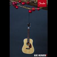 "6"" FENDER PD-1 Dreadnought Acoustic Guitar Ornament"