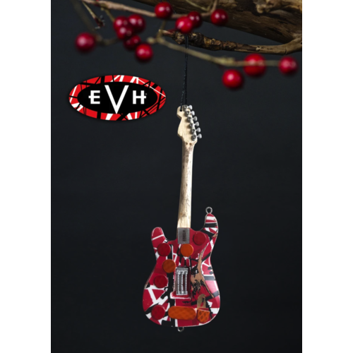 "Axe Haven 6"" Officially Licensed EVH Frankenstein Guitar Holiday Ornament"