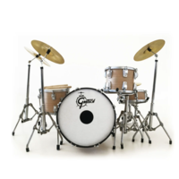 Charlie Watts Signature Miniature Drum Set Replica Collectible