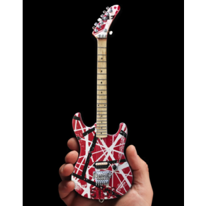 Axe Haven EVH 5150 Eddie Van Halen Mini Guitar Replica Collectible - Officially Licensed