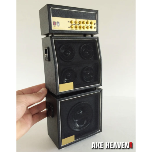 Axe Haven Full Stack Mini Amp - Classic Black MS Style Speaker Cabinets