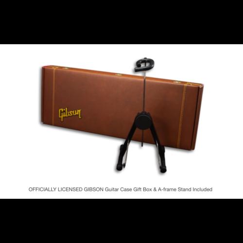 Axe Haven Gibson Les Paul Custom Ebony 1:4 Scale Mini Guitar Model