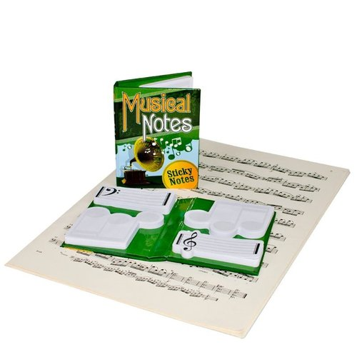 The Unemployed Philosophers Guild Musical Notes Sticky Notes