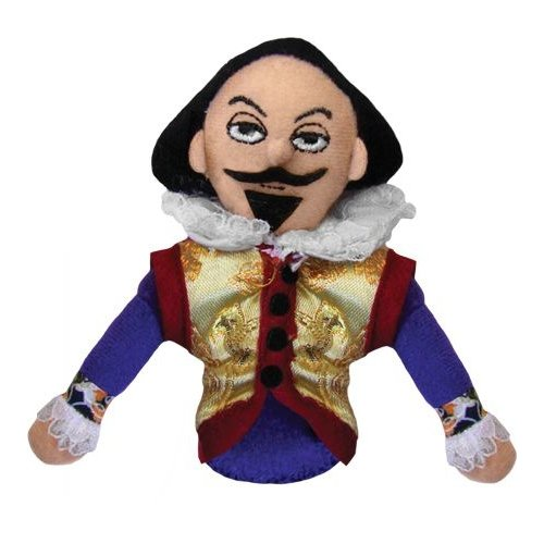 The Unemployed Philosophers Guild Shakespeare Magnetic Personality Puppet