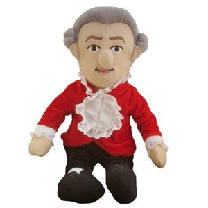 The Unemployed Philosophers Guild W.A. Mozart Little Thinker Doll