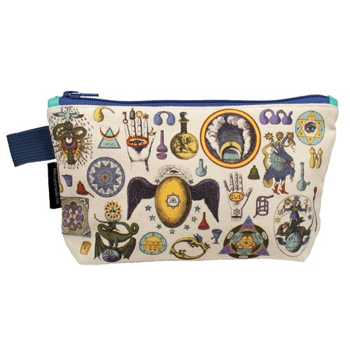 The Unemployed Philosophers Guild Alchemy Zipper Bag