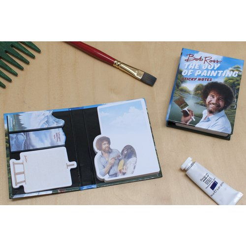 The Unemployed Philosophers Guild Bob Ross Sticky Notes