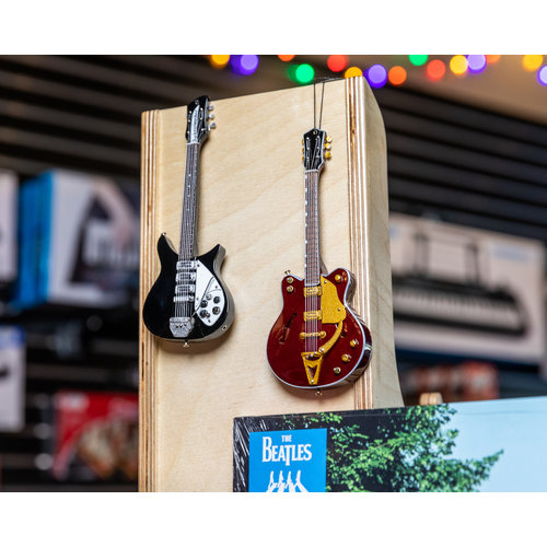"Axe Haven 6"" John Lennon FAB FOUR Electric Mini Guitar Ornament"
