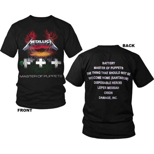 Merch Traffic Metallica - Master of Puppets T-Shirt