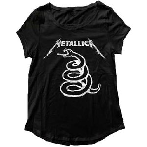 Merch Traffic Metallica - Snake T-Shirt (Women's)