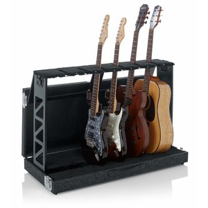 Gator Frameworks Gator Frameworks Compact Rack Style Six Guitar Stand