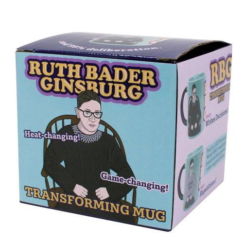 The Unemployed Philosophers Guild Ruth Bader Ginsburg Transforming Mug