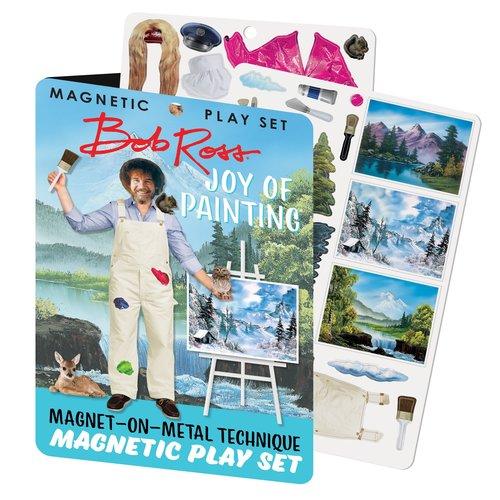 The Unemployed Philosophers Guild Joy of Painting Bob Ross Magnetic Set
