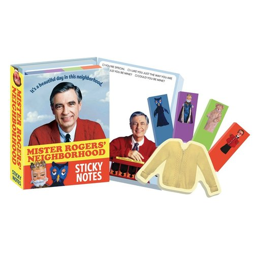 The Unemployed Philosophers Guild Mister Rogers Sticky Notes