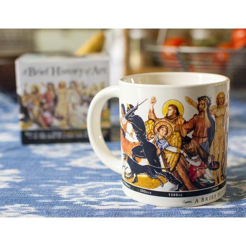 The Unemployed Philosophers Guild Brief History of Art Mug