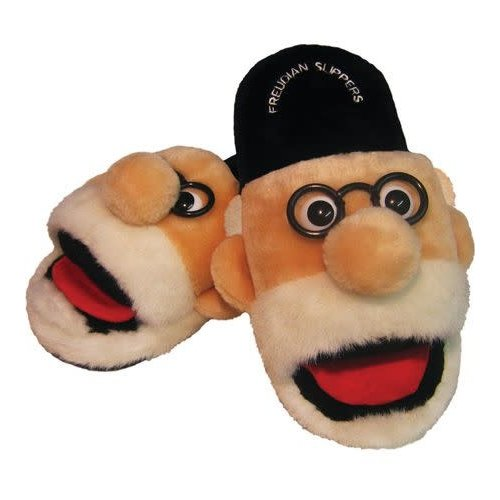 The Unemployed Philosophers Guild Freudian Slippers