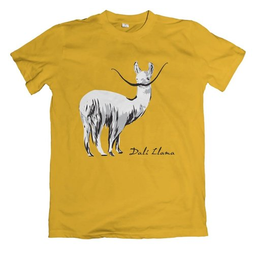 The Unemployed Philosophers Guild Dali Llama T-Shirt