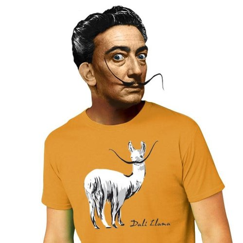 The Unemployed Philosophers Guild Dali Llama T-Shirt