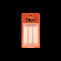 Rico Bass Clarinet Reeds 3pk - 2