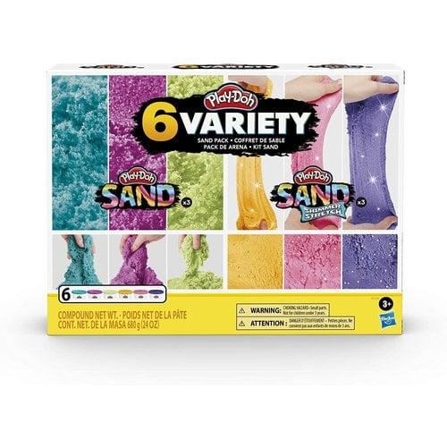 Hasbro Play Dough Sand Variety Pack (6)