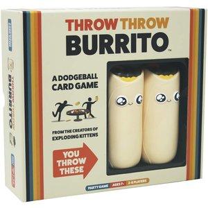 Exploding Kittens Throw Throw Burrito Game