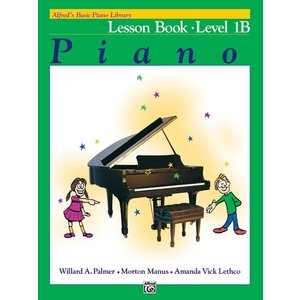 Alfred Music Alfred's Lesson Book Piano 1B