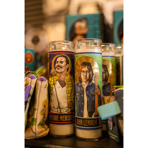 The Unemployed Philosophers Guild Lennon Secular Candle