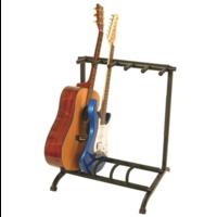 Five-Space Foldable Multi-Guitar Rack