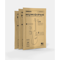 D'Addario Humidipak System Replacement Packets, 3-pack