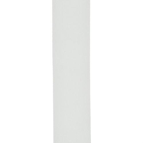 D'Addario D'Addario Basic Classic Leather Guitar Strap White