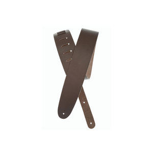 D'Addario D'Addario Basic Classic Leather Guitar Strap Brown