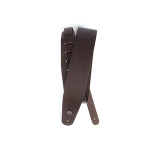 "D'Addario Classic Leather Guitar Strap - Brown 2.5"""