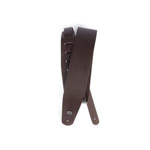 "D'Addario D'Addario 2.5"" Classic Leather Guitar Strap - Brown"