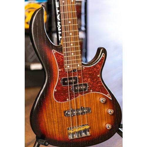Aria Aria Detroit Bass - Open-Pore Sunburst