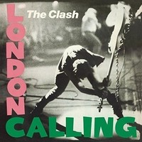 "Clash  ""London Calling"" Vinyl"