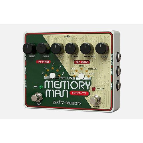 Electro Harmonix Deluxe Memory Man 550-TT Analog Delay