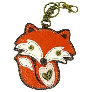 Chala Coin Purse / Key Fob - Fox