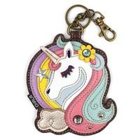 Coin Purse / Key Fob - Unicorn